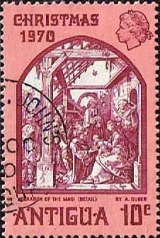 Antigua 1970 Christmas SG 287 Fine Used                    SG 287 Scott 259 Other Stamps here