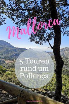 Wenn wir Urlaub auf Mallorca machen, dann immer im Norden. Diese Ecke  der Insel bietet wunderschöne Strände und tolle Gelegenheiten zum  Wandern mit Kindern. Wir zeigen euch unsere 5 liebsten Wanderungen rund  um Pollença und Alcúdia. #Mallorca #Alcudia #Pollenca #MallorcaWandern  #WandernmitKind Menorca, Blog, Happiness, Happy, Travel, Europe, Island, Tours, Hiking