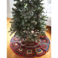 Tricia's Tree Skirt - Crochet Patterns - Patterns | Yarnspirations
