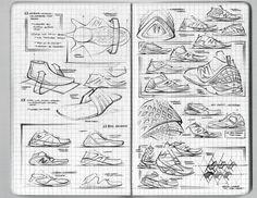 New Balance Sketchbook by Matthew DeAlmeida, via Behance