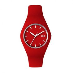 ICE WATCH UNISEX RED SILICONE WATCH £70