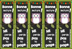 Les créations de Stéphanie: Des signets / Bookmarks [hibou] French Teacher, Teaching French, End Of Year, Reading Strategies, Classroom Organization, Literacy, Crafts For Kids, Scrapbook, Crafty