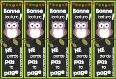 Les créations de Stéphanie: Des signets / Bookmarks [hibou]