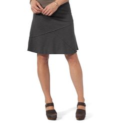 Women's Oblique Skirt ~ Tencel & Organic Cotton A-Line Skirt by Horny Toad ~ Inspired Outdoor Clothing ~ Horny Toad Activewear