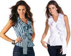 Um modelo clássico, romântico e elegante que fica bem em magrinhas e cheinhas. Segue esquema de modelagem do 36 ao 56.