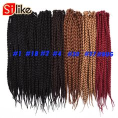 Hair Extensions & Wigs Hair Braids Aigemei Kanekalon Jumbo Synthetic Braiding Hair Crochet Hair Extensions Jumbo Braids Hairstyles 22 Inch 85g Five Colors