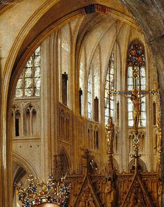 Jan van Eyck The Madonna in the Church 1437                                                                                                                                                      More