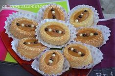 Pie Pastry Recipe, Pastry Recipes, Arabic Sweets, Arabic Food, Fancy Desserts, Fancy Cakes, Christmas Candy Crafts, Cap Cake, Algerian Recipes