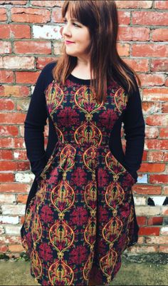 @queen_of_dahlias Zadie dress - sewing pattern by Tilly and the Buttons
