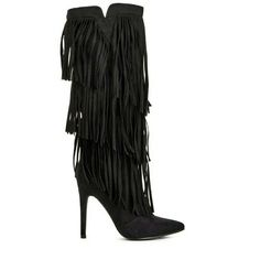 """Shop Women's Nasty Gal Black size 6.5 Heeled Boots at a discounted price at Poshmark. Description: Worn once 4.75"""" heel  Small scuff on toe on one boot No platform   Soldout online  No trades, no low balls  *not brand listed. Sold by s_victoria. Fast delivery, full service customer support."""