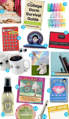 College Care Package Gift Ideas | creative gifts for college students