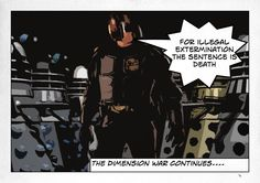 The Dimension War....Daleks Judgement Day by Oneideatoday on @DeviantArt