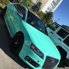 I ❤️ turquoise!!! #audi