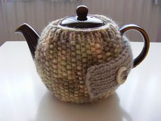 Brew Time #tea cosy #knitted #knitting