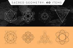 Sacred Geometry 40 Items