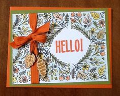 August Paper Pumpkin Bold Botanicals Stampin' Up!