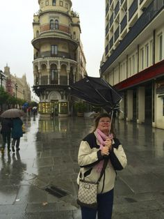 Seville is still awesome if its raining and your brand new umbrella cant take the wind ;)
