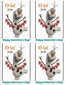 Sweet Creek Moon: Olaf Valentine's Day idea