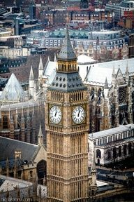 A beautiful view of Big Ben in #London