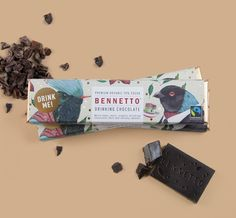 Bennetto Drinking Chocolate — #FairTrade and lovely package design