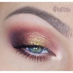 .@Katarzyna Gajewska |  Another Autumn look - and again I skipped the liner and false lashes! I used...