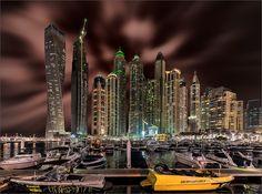 Dubai Marina... - ...bei Ncht