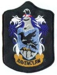 HARRY POTTER COSTUMES: : HARRY POTTER PATCHES - Ravenclaw Coat of Arms Patch Version 1