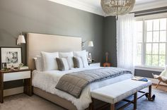 A soothing palette of neutral hues carries throughout the entire home, creating a refuge