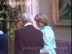 This rare, never-before-seen footage shows Diana before the wedding, before she became the Princess of Wales. At a state dinner for King Khalid of Saudi Arabia in London during her engagement to Charles. 9.6.81