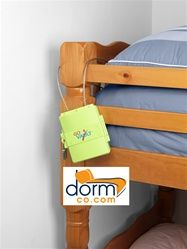 Go Vault - College Dorm Safe.  Small safe attaches to bed rails or closet rod.  Probably not a bad idea.