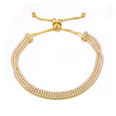 MSRP: $199.99  Our Price: $129.99  Savings: $80.00    Item Number: BR8752-Yellow  Availability: Usually Ships in 5 Business Days    PRODUCT DESCRIPTION:    BOLO    Designed for today's fast-moving, contemporary woman, our new Bolo Friendship bracelets are smart, stylish and easy to wear. Meticulously executed in 14k gold and sterling silver, these iconic bracelets are easily adjustable to fit any wrist. Each unique style of our Bolo collection looks beautiful worn as one piece alone or…