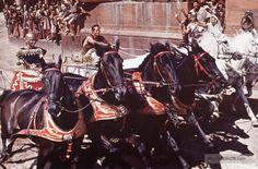 Ben-Hur - Publicity still of Charlton Heston & Stephen Boyd