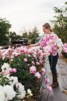 """The Proper Care and Maintenance of the """"Ultimate Queen of Spring."""" Feature article in Country Living."""