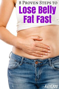 How to lose belly fat fast: 8 proven steps image