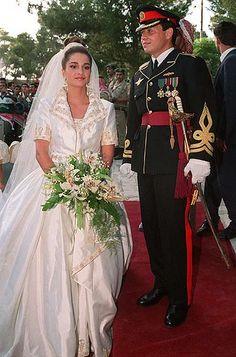 King Abdullah II and Queen Rania of Jordan