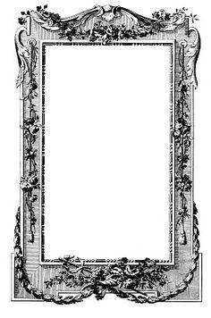 Antique Images - Fabulous French Graphic Frames - The Graphics Fairy