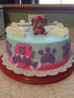 Paw Patrol Cake (flying Skye)