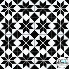Encaustic Cement Tile - Geo 17