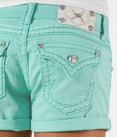 Colored (Mint) Miss Me Shorts (Buckle)     I WANT THESE BUT GOT TO LOOSE WEIGHT LOL