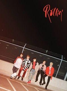 B1A4 7th Mini Album [Rollin'] Black Ver. K-POP CD+Photobook+Photocard+Poster #Pop