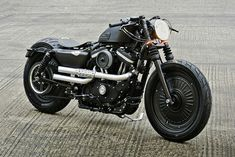 HARLEY-DAVIDSON DUBLIN custom iron 883