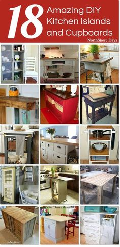 NorthShore Days.....: Awesome DIY Kitchen Furniture