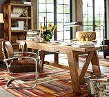 Hendrix Smart Technology™ Desk, Large, Heirloom Pine finish