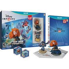 Disney Infinity: Toy Box Starter Pack (2.0 Edition) (nintendo Wii U, 2014)