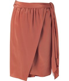 """This terracotta or rosewood color is supposed to be my """"Romance Color""""- the color of my skin when pinched."""