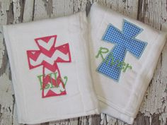Personalized Boys or Girl Burp Cloth Cloth Diaper by JustForMEToo, $12.00