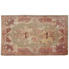 Early 20th Century Khotan Rug | From a unique collection of antique and modern central asian rugs at http://www.1stdibs.com/furniture/rugs-carpets/central-asian-rugs/