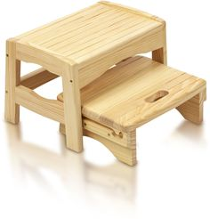 Safety 1st WOODEN STEP STOOL Baby/Child Bathroom/Potty Training Accessory #Safety1st