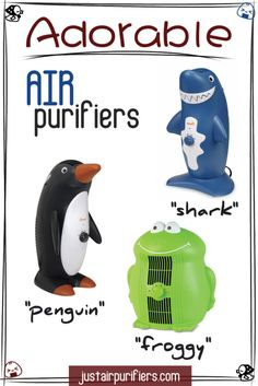 Way Too Cute!!! Children's air purifiers http://justairpurifiers.com/adorable-air-purifiers-for-childs-room/ #cute #clean #air