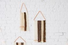 DIY a Wall Hanging With Copper Pipe + Yarn
